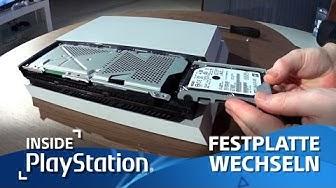Tutorial: Festplatte der PS4 wechseln