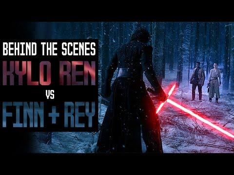 Kylo Ren vs Finn & Rey | Behind The Scenes History