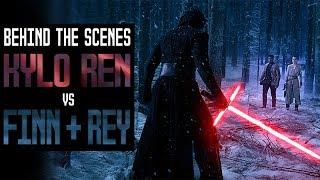 Kylo Ren vs Finn & Rey   Behind The Scenes History