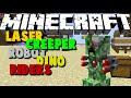Minecraft: LASER CREEPER ROBOT DINO RIDERS - TRANSFORMERS IN MINECRAFT? - Brothers Minecraft [08]