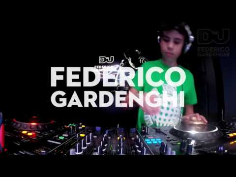 Federico Gardenghi - 12 Year Old Techno DJ - Exclusive Live DJ Set