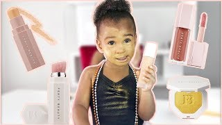 TODDLER REVIEWS FENTY BEAUTY MAKEUP BY RIHANNA