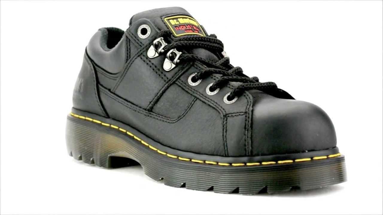 Dr Martens R12728001 Steel Toe Work Shoe Steel Toe