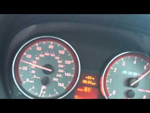 my 2013 BMW 335is 0-60 test - YouTube