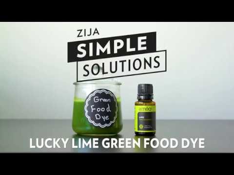 Lucky Lime Green Food Dye - YouTube