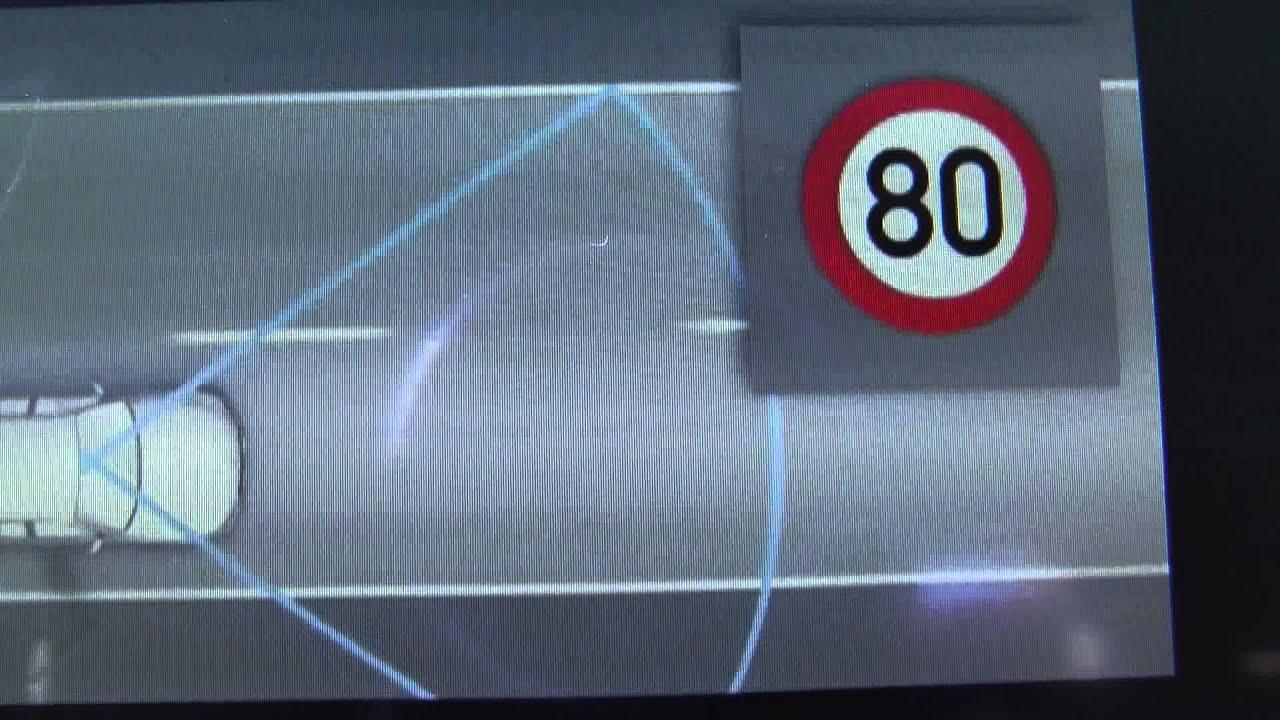 BMW Speed Limit Detection