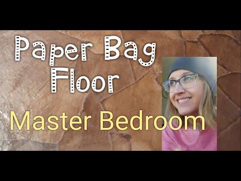 Paper Bag Floor Master Bedroom Part 1