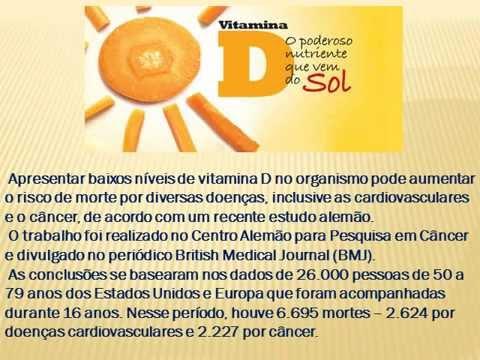 af84d4751 VITAMINA D  O QUE É FUNDAMENTAL SABER ! - YouTube