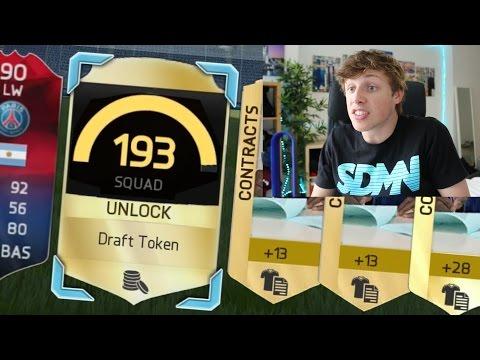 193 FUT DRAFT IN A PACK!!!! - FIFA 16