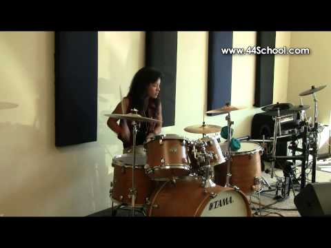 Christina Y 44 School of Music Fall 2012 Concert Drum lessons