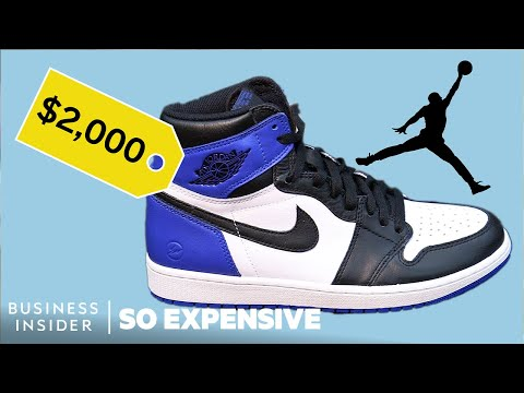Why Nike Air Jordans Are So Expensive | So Expensive