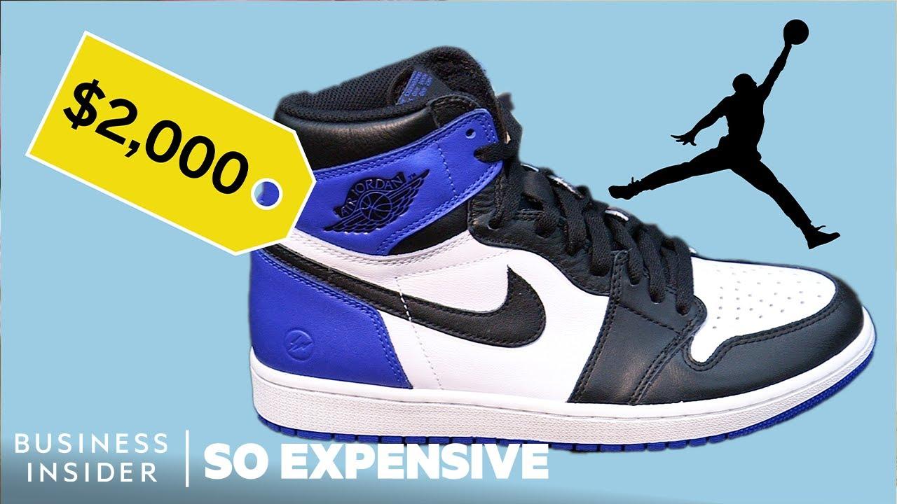 most expensive jordans retail