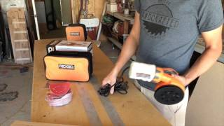 Ridgid Sander Preview with Peters HandCrafted