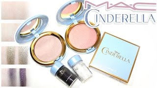 Review & Swatches: MAC x Cinderella Collection