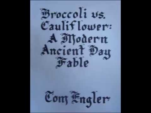 Broccoli vs Cauliflower: A Modern Ancient Day Fable (Children's Book Trailer)