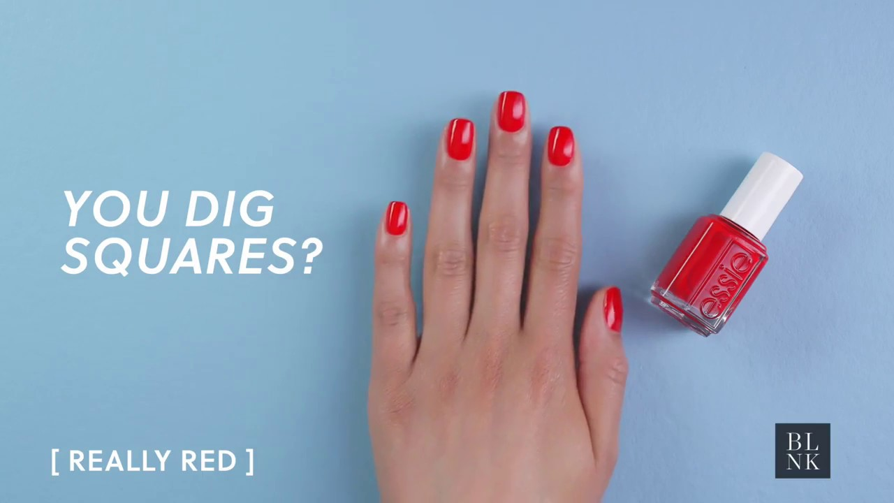 The Most Flattering Essie Colors For Your Favorite Nail Shape - YouTube