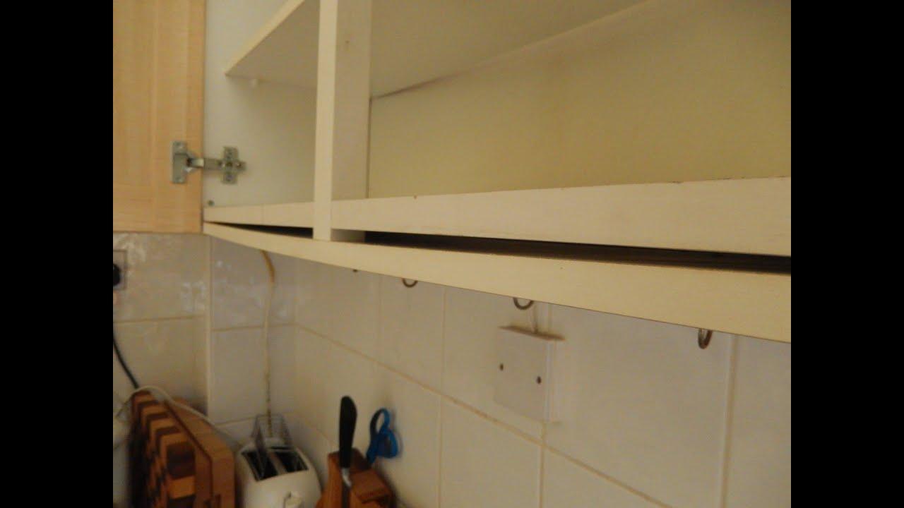 Fixing a Sagging Wall Shelf  YouTube