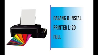 Gambar cover Instal Printer EPSON L120 Full