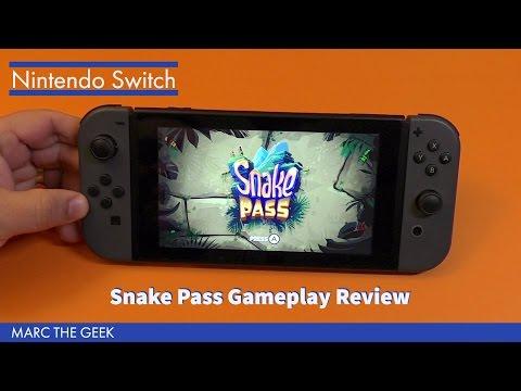 Nintendo Switch: Snake Pass Gameplay