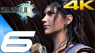 Final Fantasy XIII - Walkthrough Part 6 - Garuda Boss & Shiva Summon [4K 60FPS]
