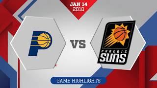 Indiana Pacers vs Phoenix Suns: January 14, 2018