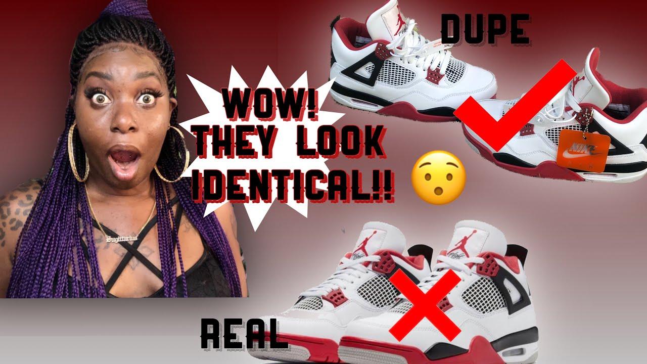 Best Jordan Replicas? Air Jordan Retro 4 Unboxing+ on foot