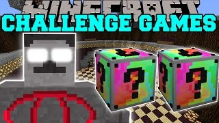 Minecraft: ROCK GOD CHALLENGE GAMES - Lucky Block Mod - Modded Mini-Game