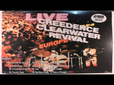 Creedence Clearwater Revival - Live In Europe (Full album) 1973