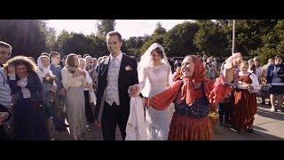 Венчание Ильи и Дарьи (свадебная кинохроника, свадебный фильм)