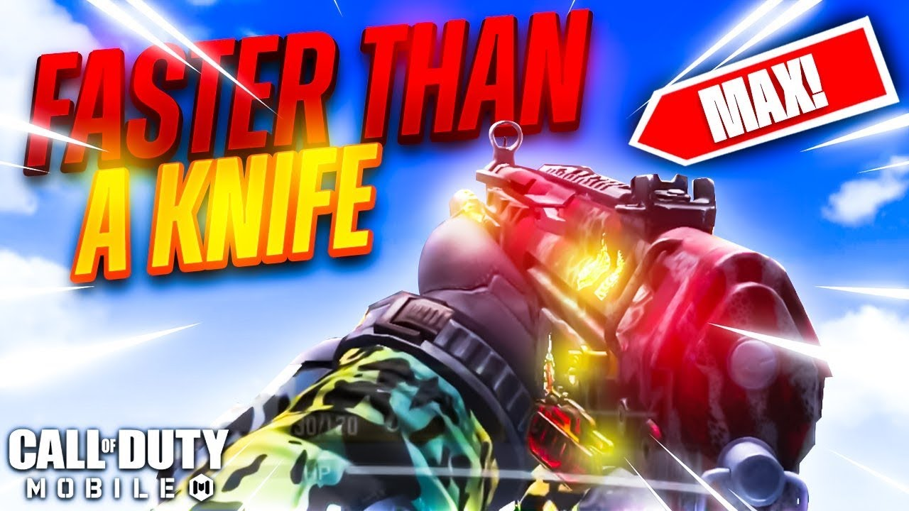 I MADE THE FASTEST WEAPON in COD MOBILE (MAX MOBILITY)