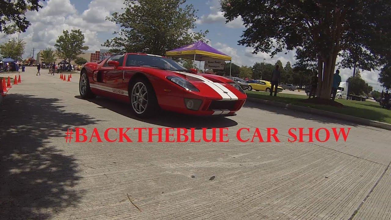 BACKTHEBLUE BATON ROUGE CAR SHOW