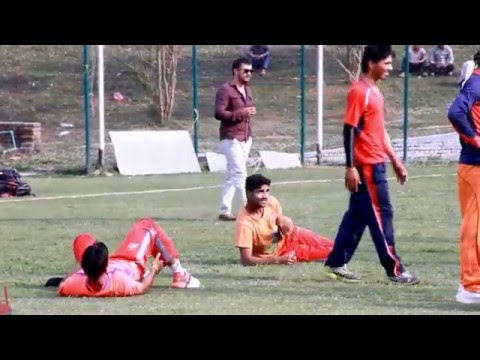 ICC World Cricket League | Nepali Cricket Team Practice Session