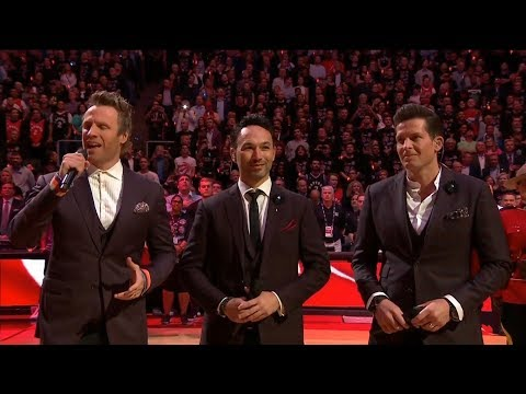 The Best Rendition of Canada's National Anthem (O Canada) - The Tenors