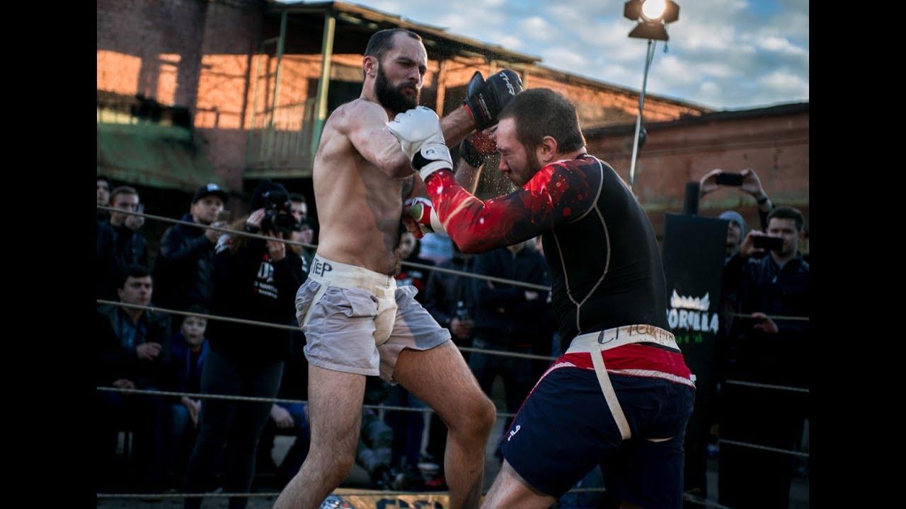 БЛОГЕР залез в ринг против  Бойца Без Правил