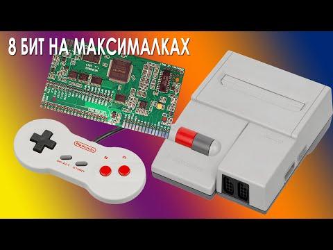 Обзор AV Famicom с установленным RGB Mod