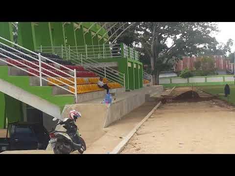 Kondisi Terkini Renovasi Lapangan Merdeka Solok Home Base Solok FC