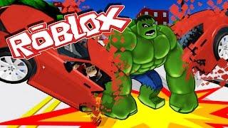 Roblox | HULK DESTROYS EVERYTHING - Roblox Superheroes! (Superhero Tycoon)
