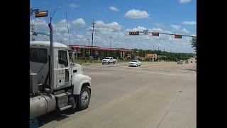 Dump truck runs red light   Rockwall, TX