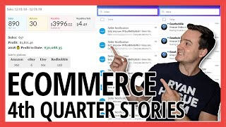 Q4 Sales Stories 💸 E-commerce, Amazon FBA / Merch, Print on Demand Seller