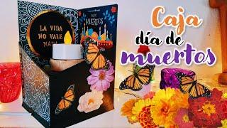 DIY ♡ Detalle de día de muertos ♡ caja de día de muertos | Erandy Paz