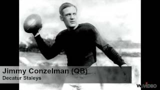 College Football/NFL in 1920's/1930's - American History Project