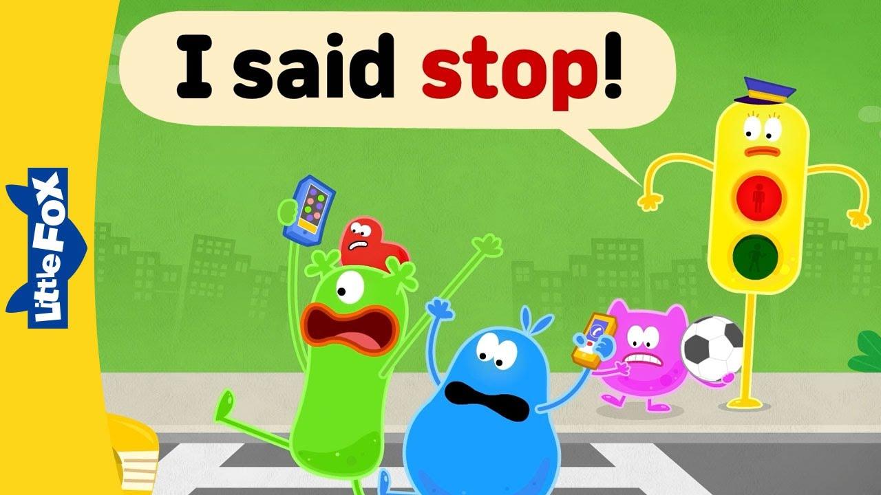 영어동요 | 사이트 워드 I Said Stop!  | 흥겨운 사이트 워드 송으로 영어 읽기 시작해요🎵