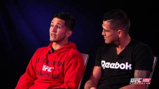UFC 181: Rapid Fire with the Pettis Brothers