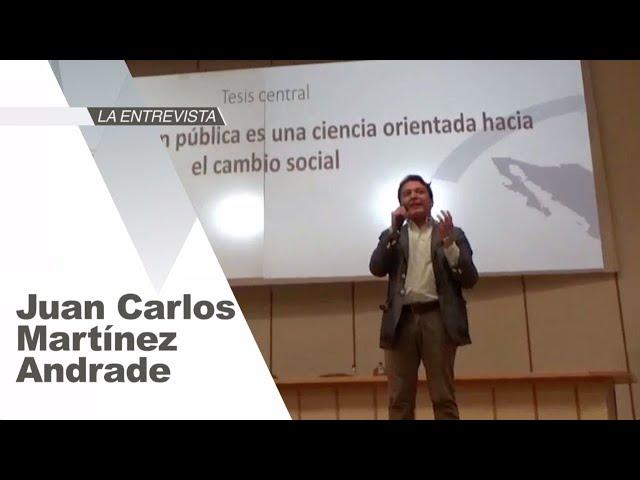 La Entrevista: Juan Carlos Martínez Andrade, Investigador El Colegio de Tamaulipas