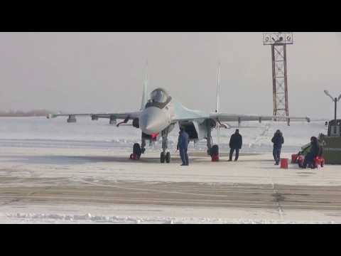 Russia MOD - Su-35S Stealth Fighters Kuril Islands Flight Exercise [1080p]