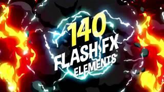 Скачать 140 Flash FX Elements 100 FREE