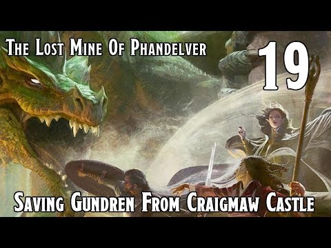 Dungeons & Dragons 5e -- Lost Mine Of Phandelver -- Saving