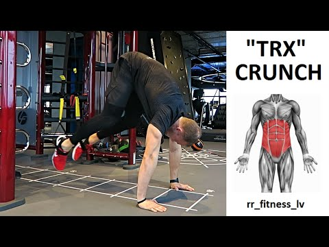 How to do TRX crunches Best ABS excersies!