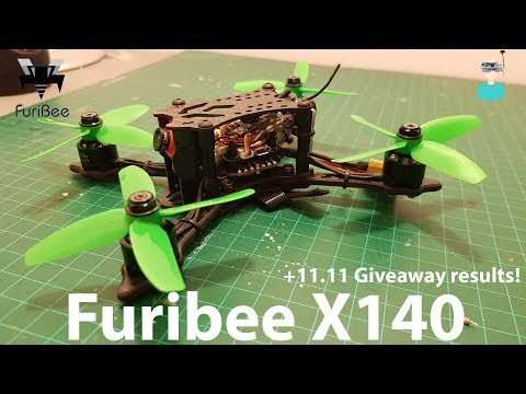 FuriBee X140 - Unboxing, Review And Test Flights (2s, 3s & 4s)
