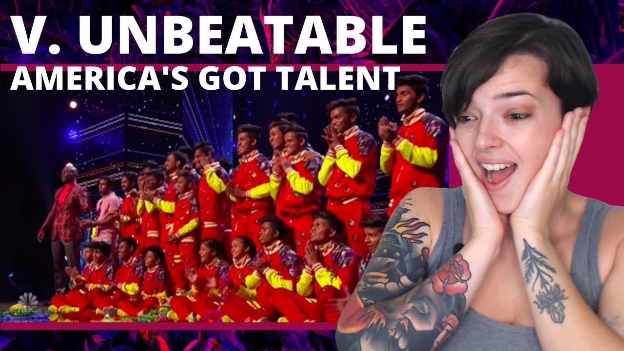 V. Unbeatable: Indian Dance Crew Put LIVES on The Line For @America's Got Talent | REACTION!!!